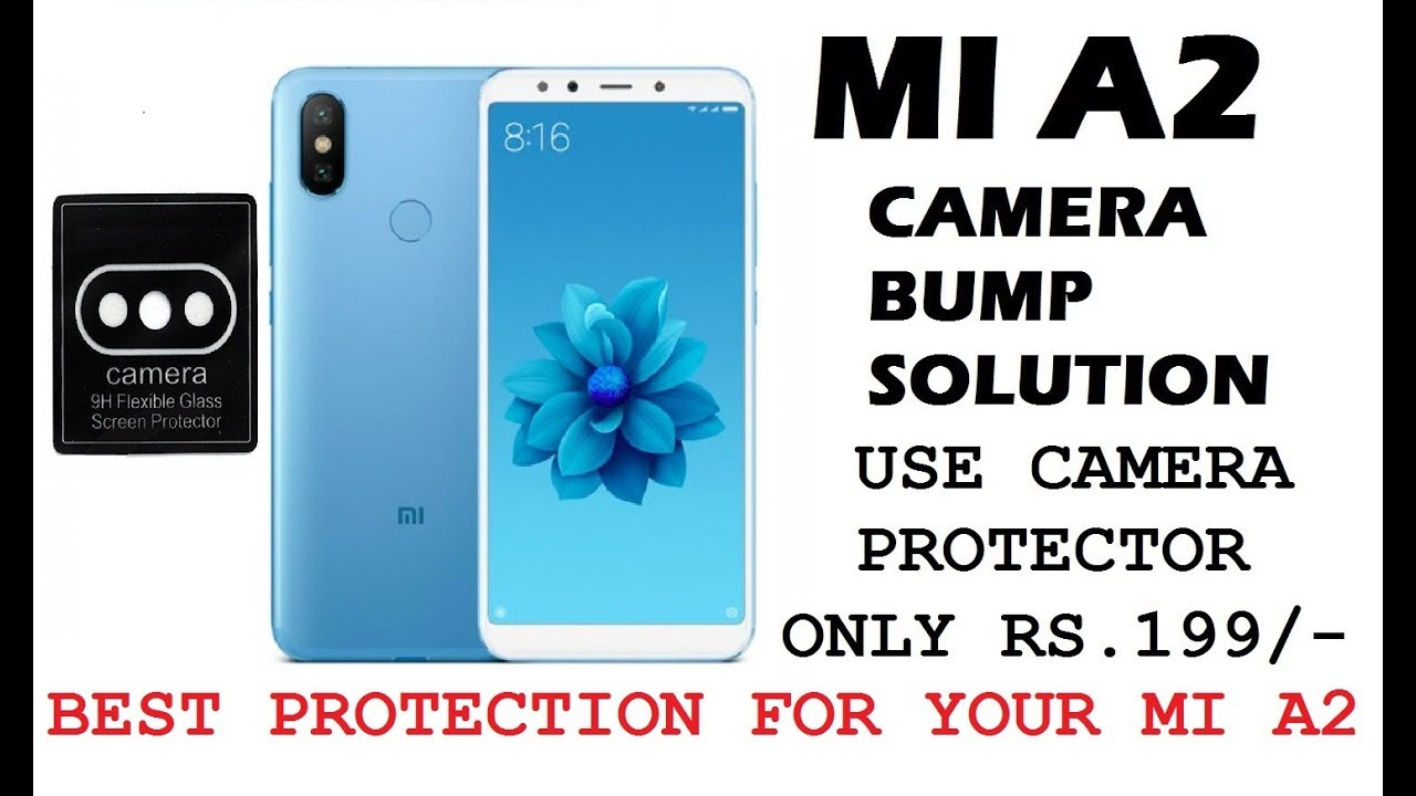 low priced 19b52 45084 MI A2 Camera Lens Protector || Protect your phone from scratches