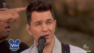 Andy Grammer on The View at Disney World - March 6, 2017
