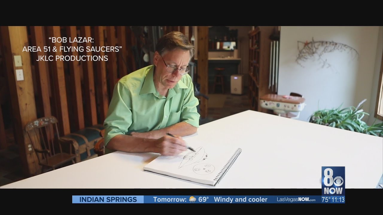 I-Team: A look back at 1989 Bob Lazar interview