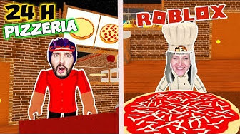 Roblox: KAAN + NINA ARBEITEN 24 STUNDEN IN EINER PIZZERIA! Roleplay bei Work at Pizza Place