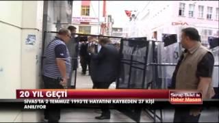 Sivas- Madımak olaylarının 20. yılı
