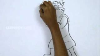 How to Draw King Richard Robin Hood