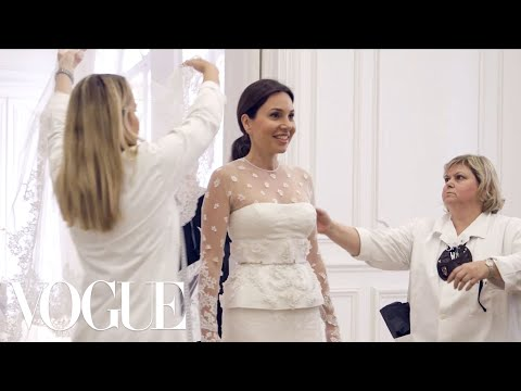 Fabiola Beracasa's Final Wedding Dress Fitting With Riccardo Tisci at the Givenchy Atelier