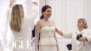 Fabiola Beracasa's Wedding Dress Fitting With Riccardo Tisci | Vogue