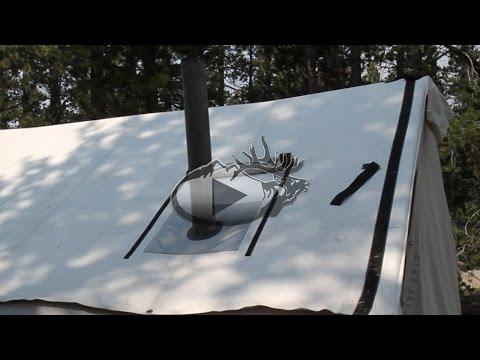 Custom Canvas Wall Tent