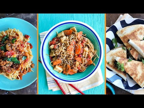 EASY and QUICK Vegan Dinner Meals | The Edgy Veg