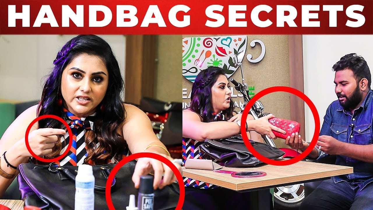 Spray Namitha S Handbag Secrets