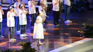 LYCA sings TELL THE WORLD OF HIS LOVE