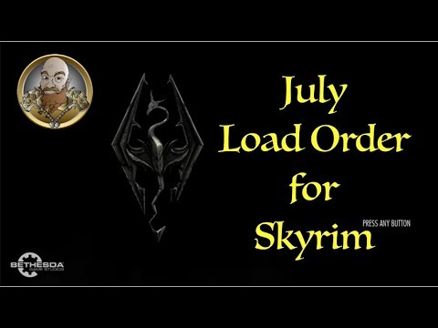 Skyrim XB1X:  NEW LOAD ORDER for JULY