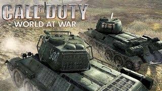 МИССИЯ НА ТАНКАХ Call of Duty 5 World at War - Прохождение 8   Железом и кровью