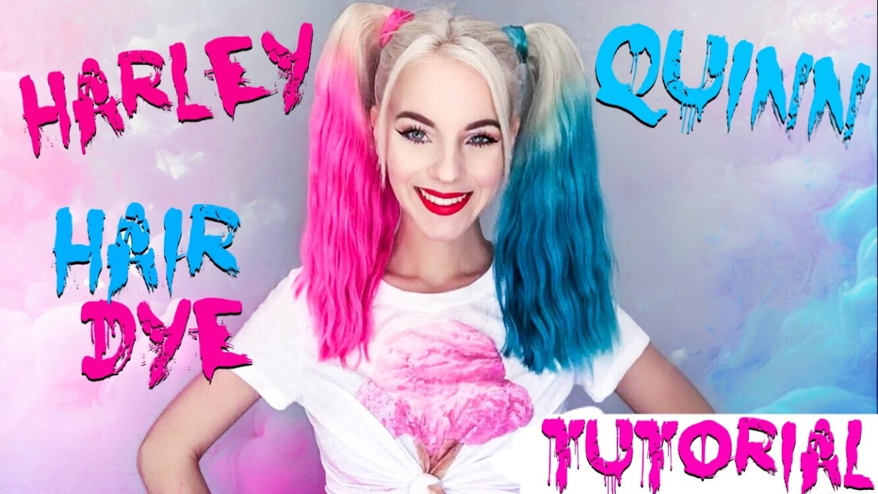 Dye Your Hair Like Harley Quinn