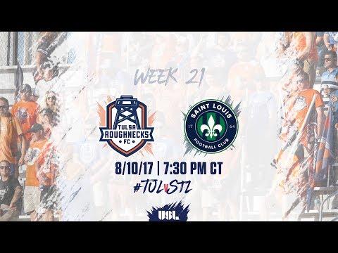 USL LIVE - Tulsa Roughnecks FC vs Saint Louis FC 8/10/17