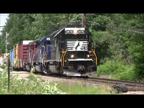 HD Pan Am diesel runby's at Plaistow,NH May-June 2014