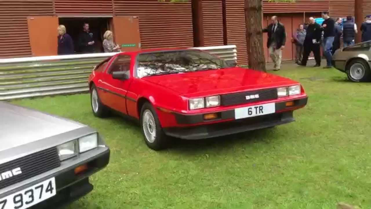 delorean motor company reunion at the ulster transport museum northern ireland youtube. Black Bedroom Furniture Sets. Home Design Ideas