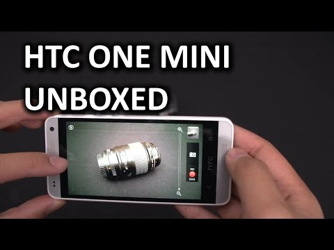 HTC One Mini Smartphone Unboxing & Overview