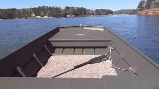 1996 johnson 25 hp on 15 aluminum jon boat