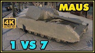 World of Tanks | Maus - 10 Kills - 8.8K Damage