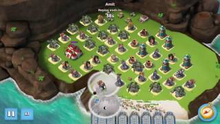 Boom Beach Corner Office NO Casualties un-Boosted