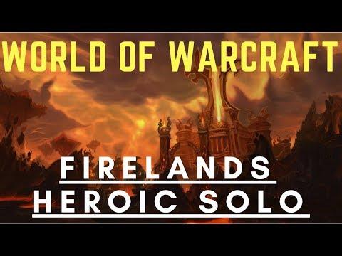 WoW Raid Solo - Firelands - Heroic - Speed Run