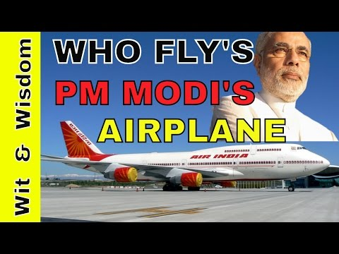 Who Pilot's PM narendra modi's Air India One Plane ?Modi Latest