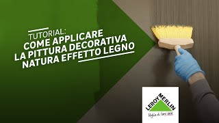 Leroy Merlin Pitture Murali Decorative : Tutorial di bricolage leroy merlin