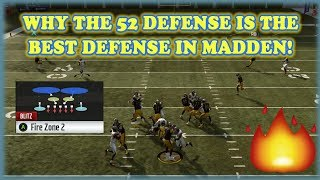 Why the 52 Defense is the BEST Defense in Madden 19!!