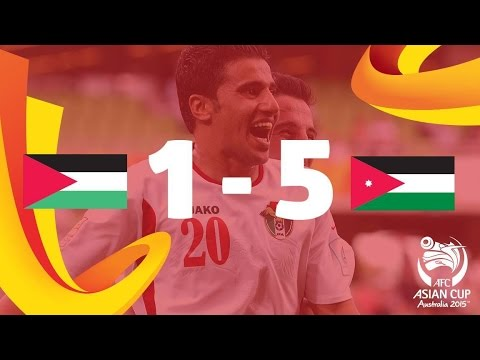 Palestine vs Jordan: AFC Asian Cup Australia 2015 (Match 15)