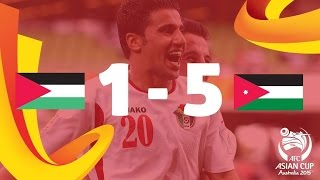 Video Gol Pertandingan Palestine vs Jordan