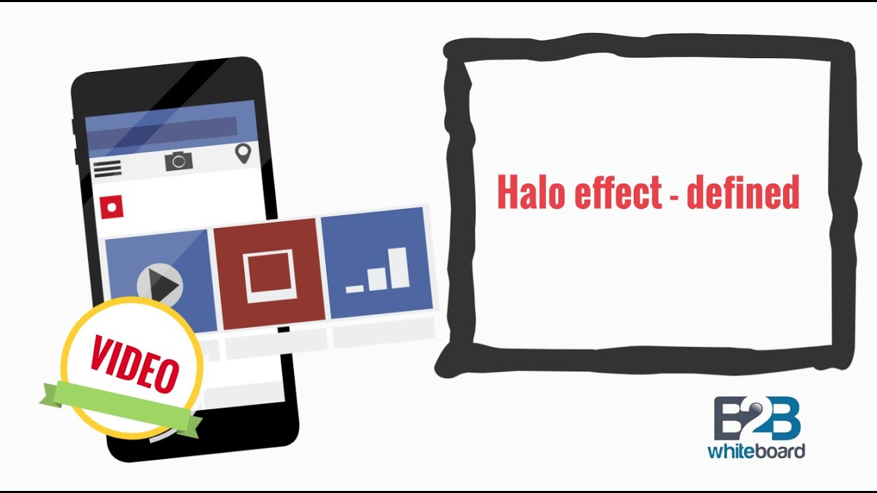 Halo effect - defined - YouTube
