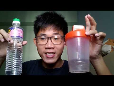 How to clean smelly shaker bottle