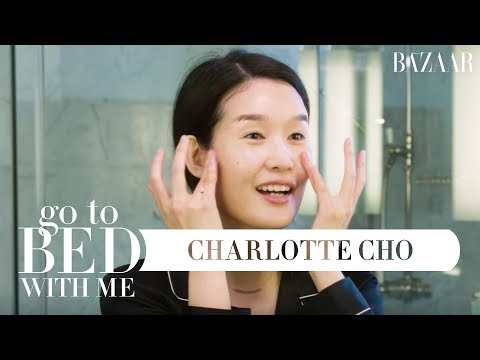 Charlotte Cho's 9-Step Nighttime Skincare Routine | Go To Bed With Me | Harper's BAZAAR