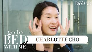 Charlotte Cho's 9-Step Nighttime Skincare Routine   Go to Bed With Me   Harper's BAZAAR
