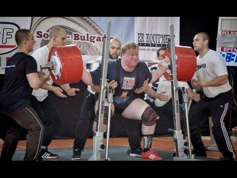 Carl Yngvar Christensen 1200kg (2646lb) WORLD RECORD @ European  Powerlifting Championship 2014