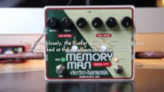 Electro-Harmonix Deluxe Memory Man 550 TT | analog delay with tap tempo