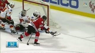 Kane fires top-shelf backhander past Ramo