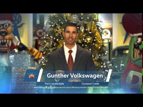 Gunther Volkswagen of Fort Lauderdale - 2015 Holiday Commercial