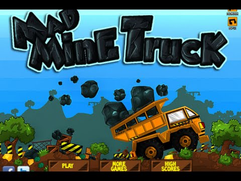 Mining Turck GamePlay -  Best Truck Game [Miniclip Games] Trailler