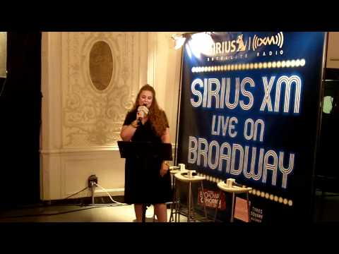 Julie James - Listen To My Heart - Sirius XM LIve On Broadway!