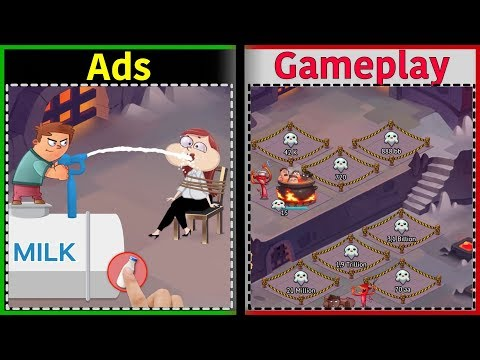 Idle Evil Clicker | Is It Like The Ads? | Gameplay