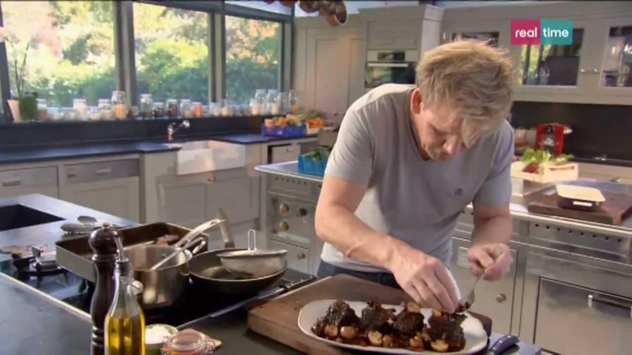 Cucina con Ramsay # 61: Costolette di Manzo stufate - YouTube