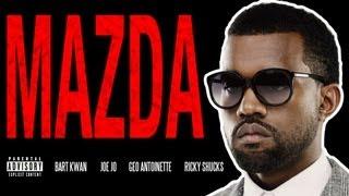 """Kanye West - """"Mercy"""" (PARODY) """"Mazda"""""""