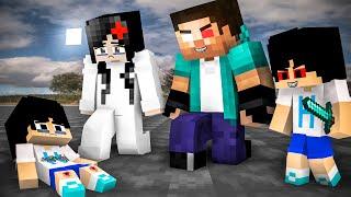 Heeko Lost His Family - Part3  (Very Sad Story) - Monster school Minecraft Animation