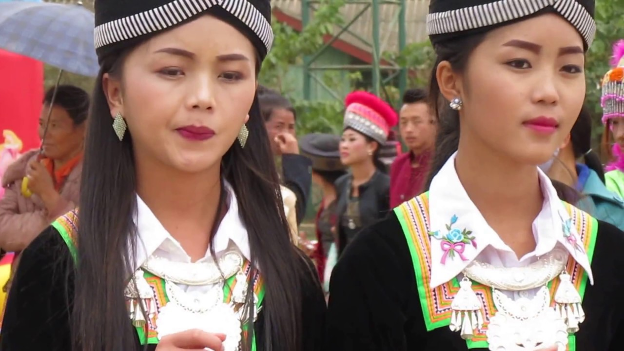 Hmong new year in Laos 2017 - YouTube