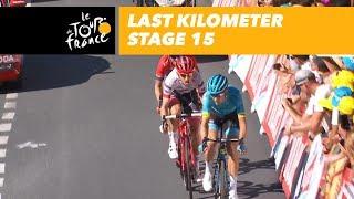 Tour de France 2018: laatste kilometer etappe 15