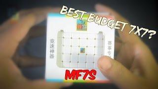 mf7s cubing classroom moyu 7x7 first impression solve
