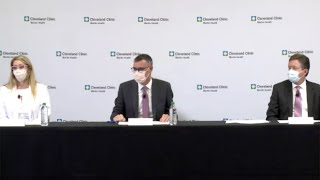Cleveland Clinic Florida Gives Update On Rising COVID-19 Cases