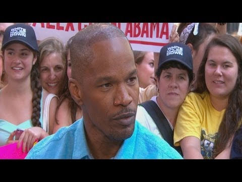 Jamie Foxx Interview: 'White House Down' Actor on Obama's Request to See Film