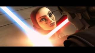 Star Wars The Clone Wars Anakin Skywalker VS Barriss Offee