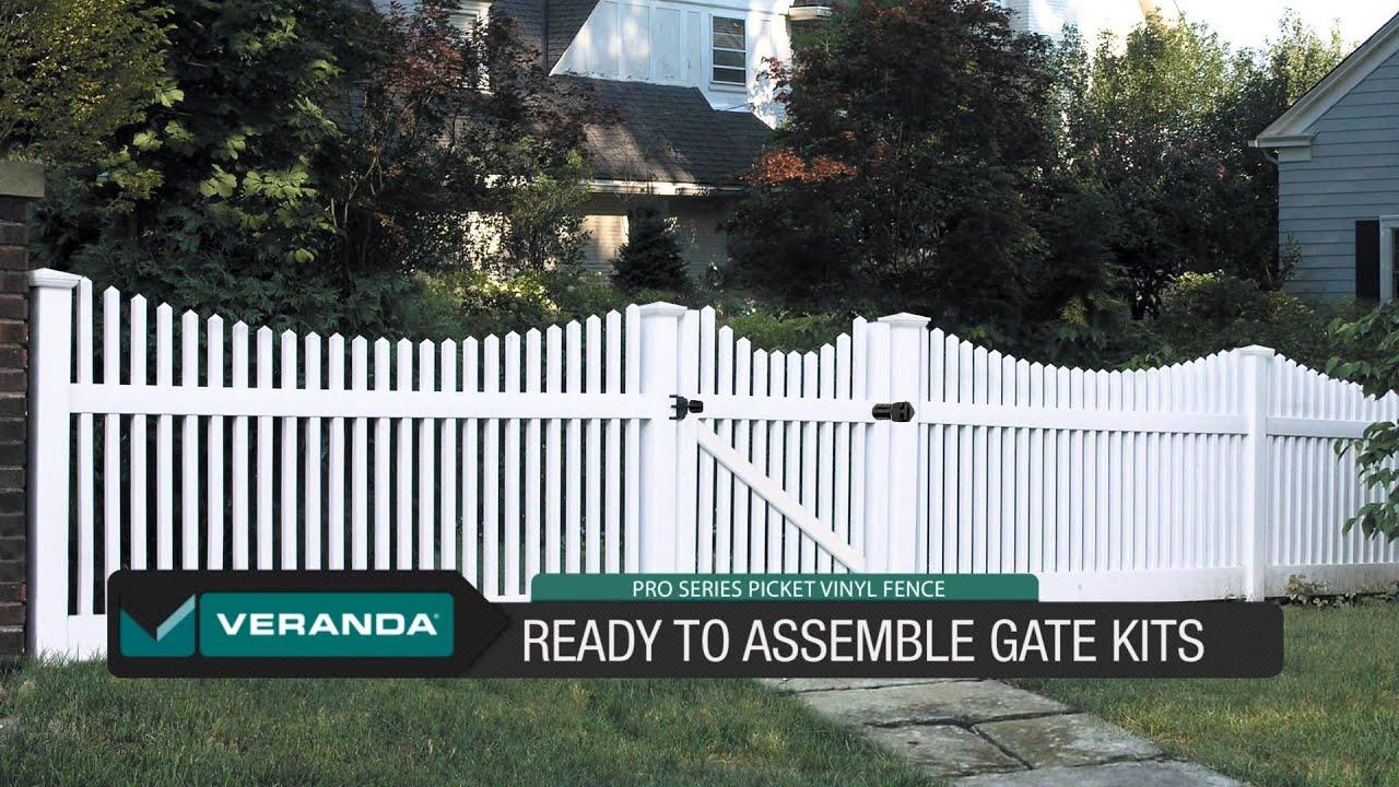 Pro Series Picket fences by Veranda