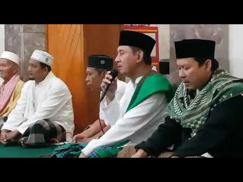 Sholawat nabi sebelum kultum Achmad Ru'yat